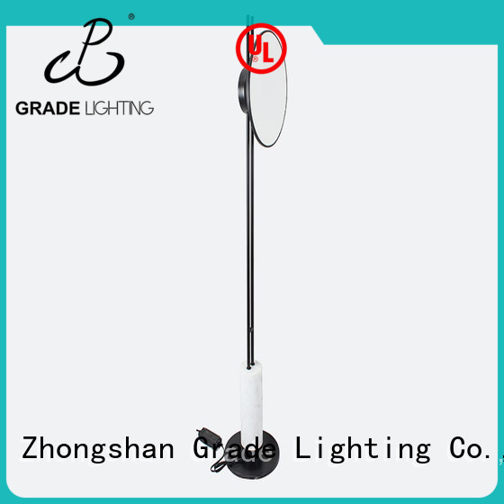 Grade acrylic standard floor lamp customized for office