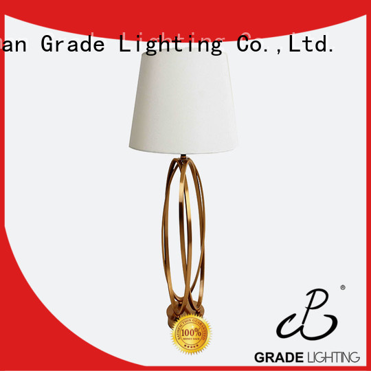 Grade hotel table lamps supplier for hallway