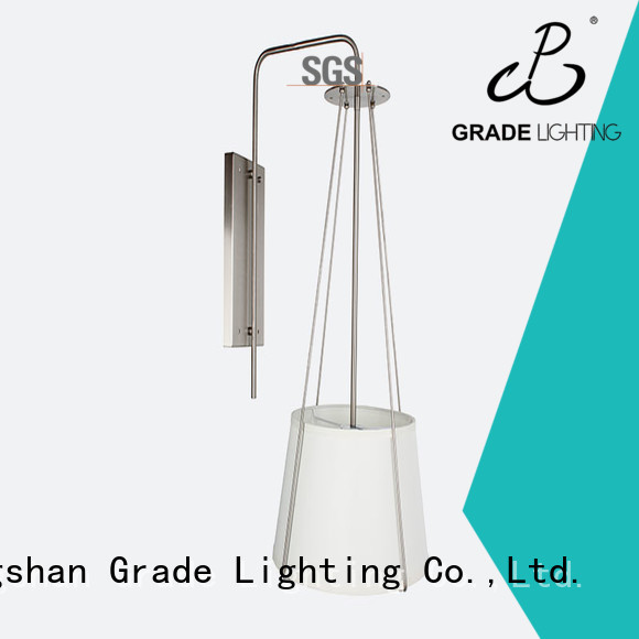 Grade stable plug in wall lamp for living room