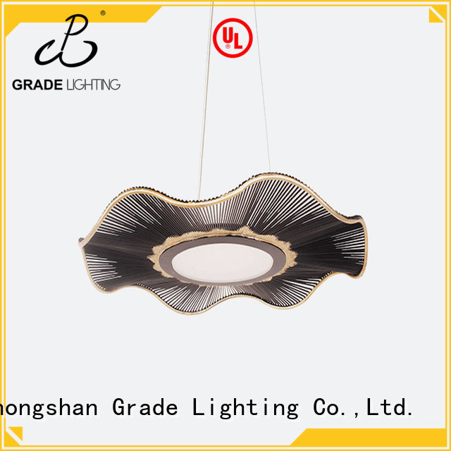 Grade approved custom pendant lighting with good price for hotel