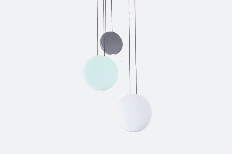 Modern Fashional round Triple Decoration Lamps Residential Hall Hanging Led Pendant Light