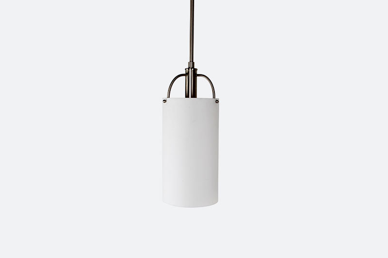 Modern Designer Hotel bedroom white acrylic cylinder pendant light fixtures