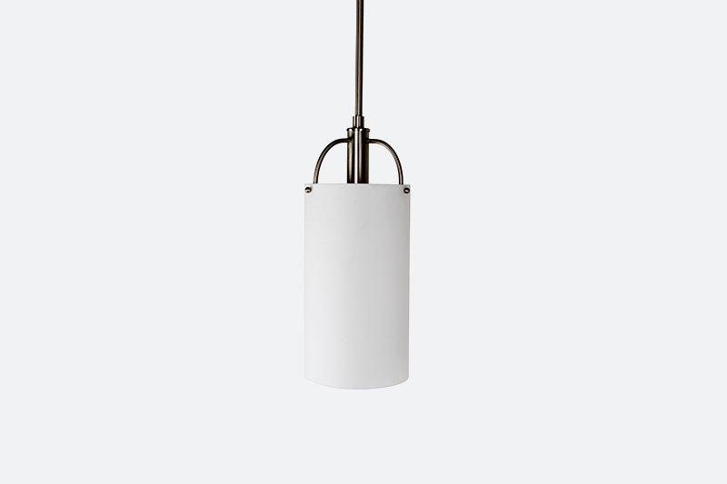 Modern Designer Hotel bedroom white acrylic cylinder pendant light fixtures