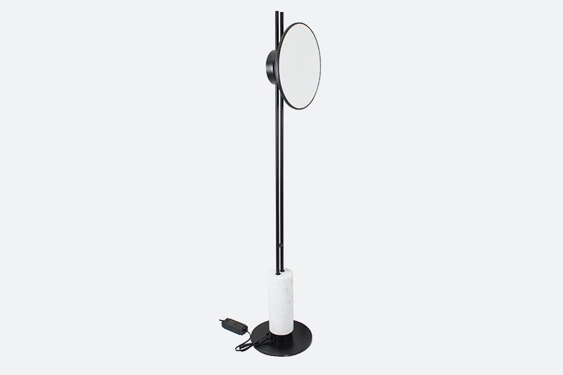 Simple style living room floor lamp for office metal acrylic led floor standing lamps