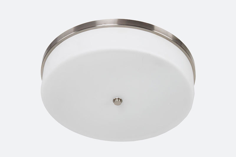 New design Brushed Nickel Recessed Mounted Modern LED Roof Ceiling Lights
