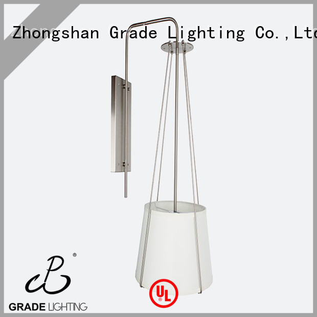 Grade quality wall light fixture personalized for restaurant