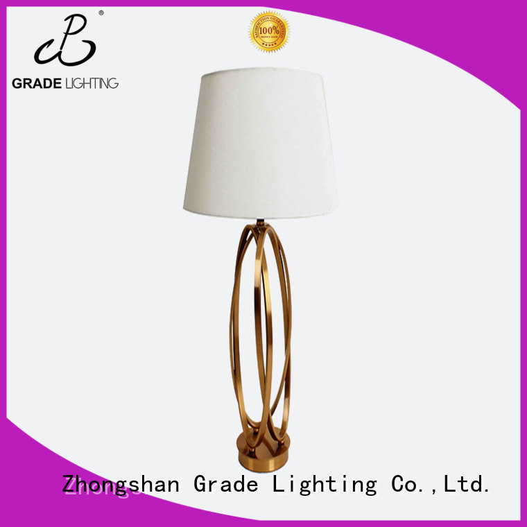 Grade indoor table lamps factory price for hallway