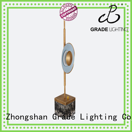 Grade stable custom table lamps supplier for hotel
