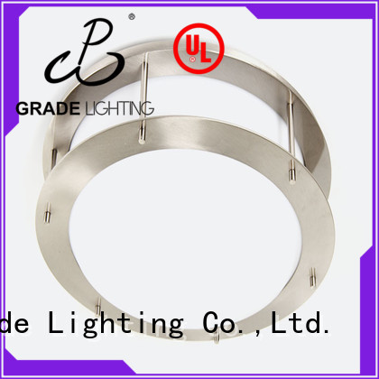 satin custom ceiling lighting with good price for hotel