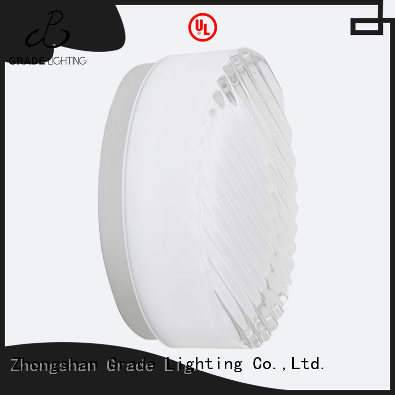 Grade mounted hotel lighting factory price for living room