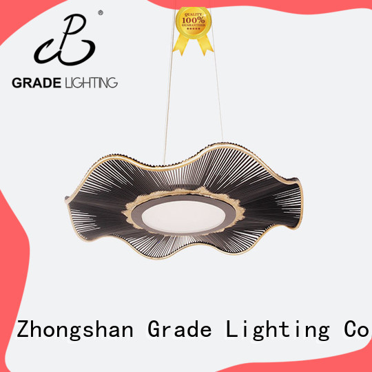 Grade round hanging ceiling lights for hotel