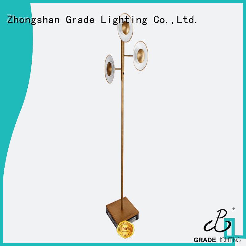 Grade practical floor standing lights manufacturer for livingroom