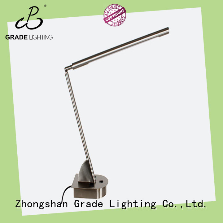 Grade custom table lamps factory price for restaurant