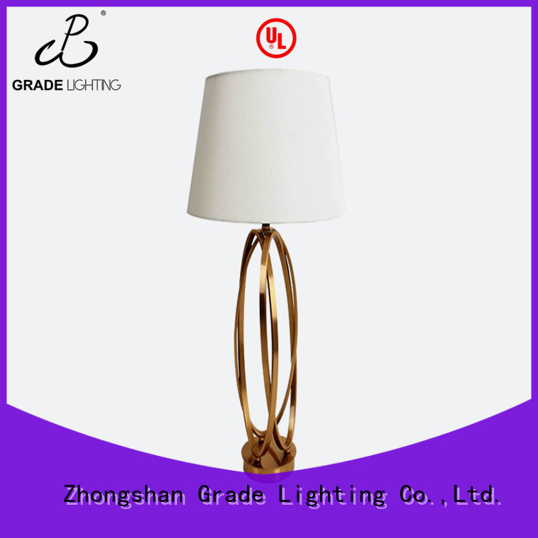 certificated table lamps factory price for hotel