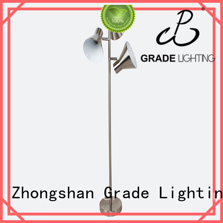 Grade acrylic adjustable arm floor lamp customized for office