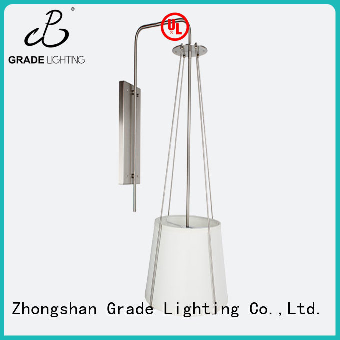 Grade aluminum hotel lighting supplier for bedroom