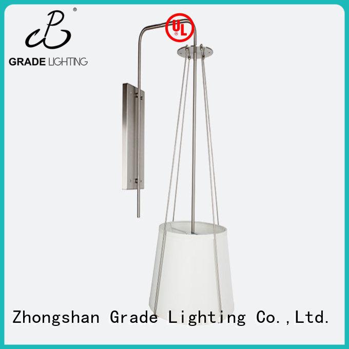 Grade aluminum hotel lighting supplier for bedroom