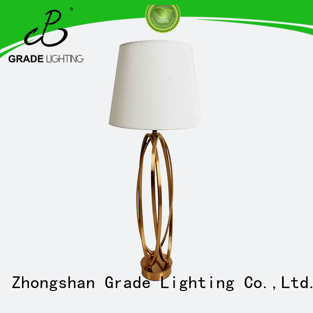 Grade hotel table lamps wholesale for hallway