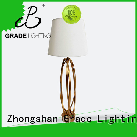 Grade indoor table lamps factory price for hotel
