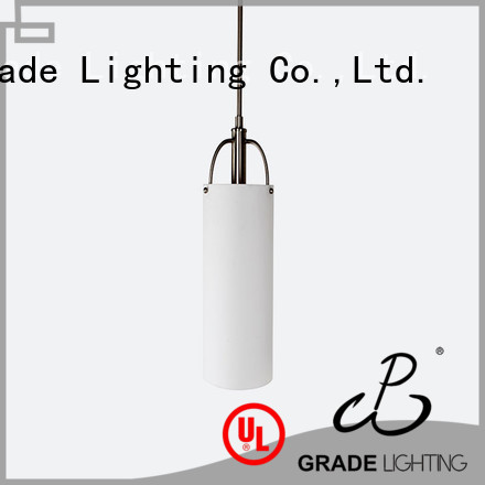 Grade drop light design for hall