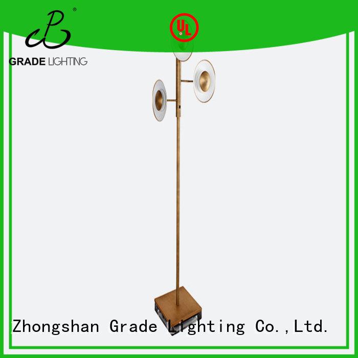 Grade brass floor lights series for household
