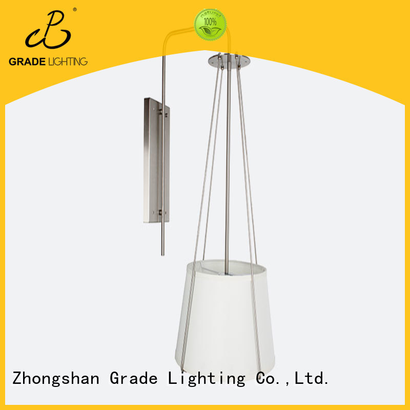 New modern indoor wall lights Hotel Decorative fabric light e27 wall lamp For Bedside Hallway Living Room