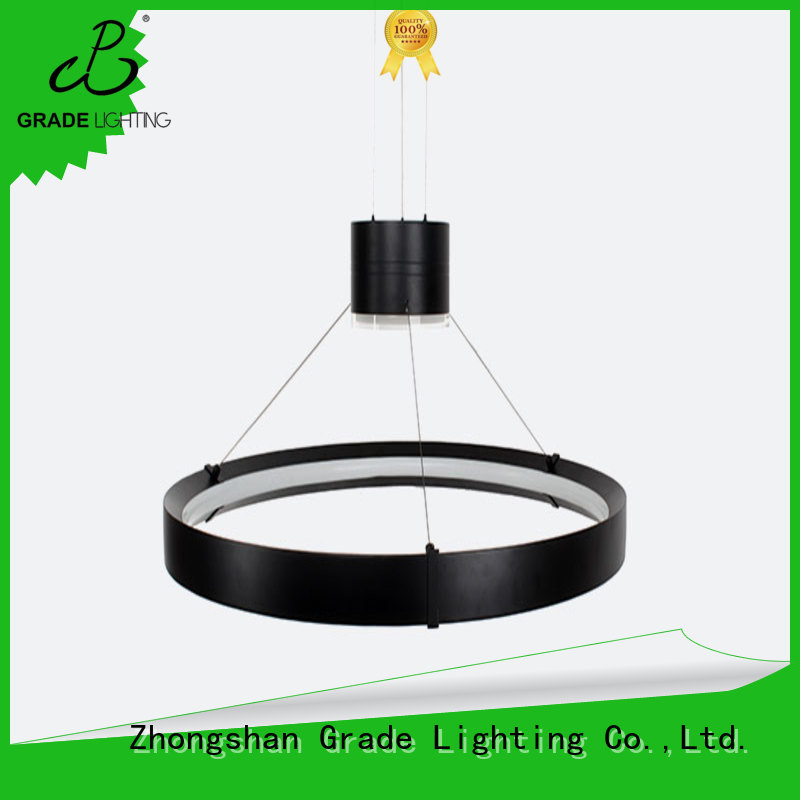 Grade custom hanging lights with good price for hall