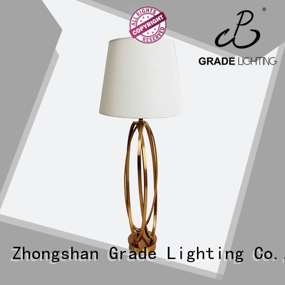 Grade certificated custom table lamps personalized for living room