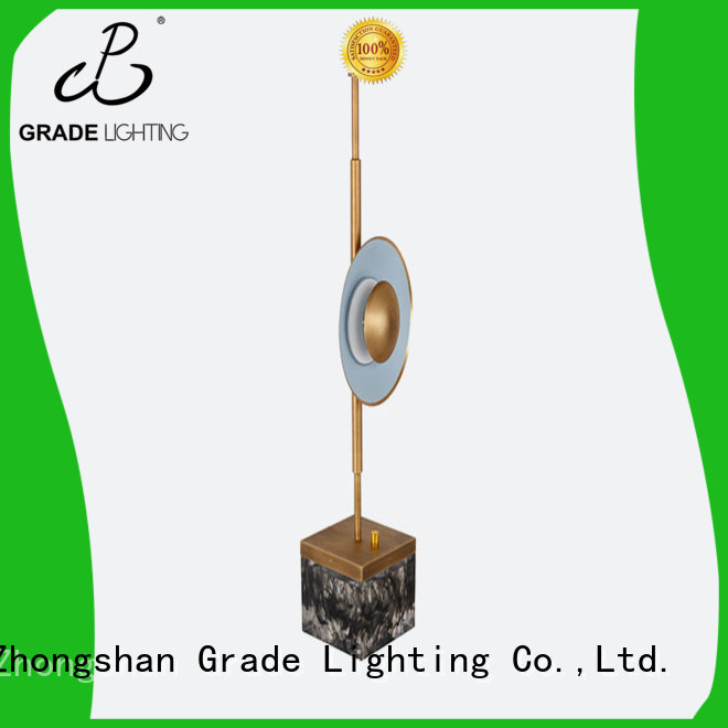 Grade certificated hotel table lamp factory price for hotel