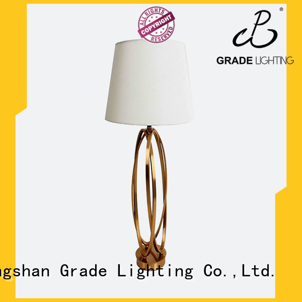 Grade nordic style metal table lamp for restaurant