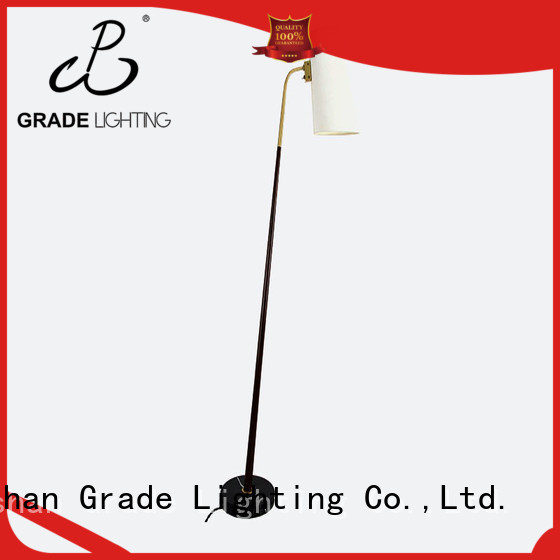 Grade adjustable standard lamps customized for hotel
