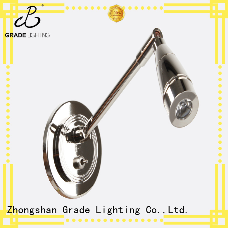 Grade certificated wall lamp factory price for bedroom