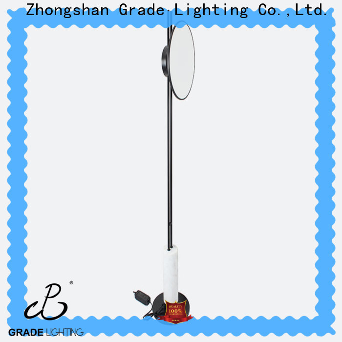 Grade acrylic floor lamp customized for hotel