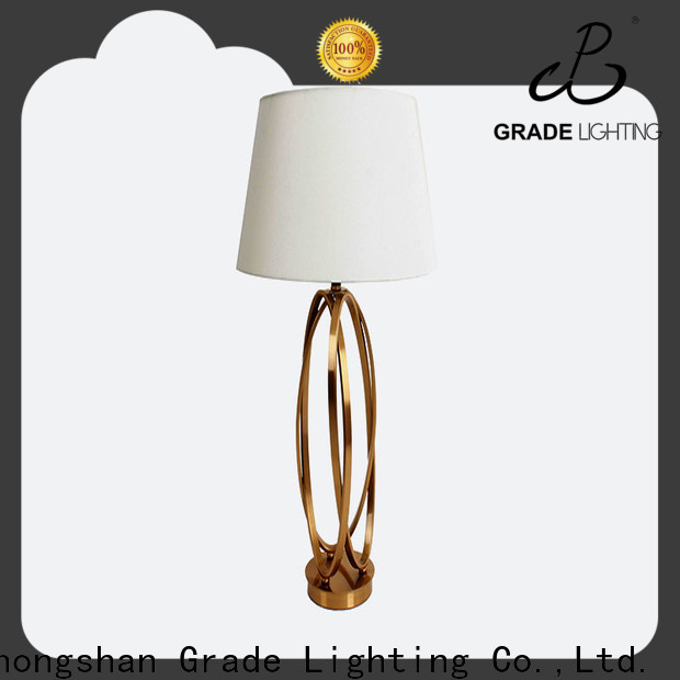 Grade modern table lamps factory price for indoor