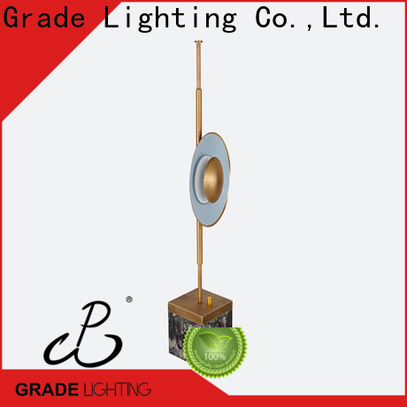 Grade certificated hotel table lamp factory price for indoor