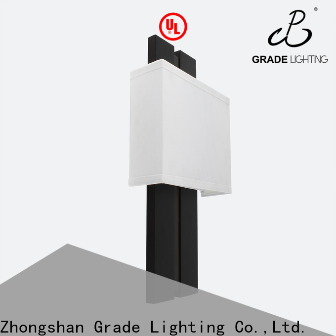 Grade stable indoor wall lamps factory price for hotel