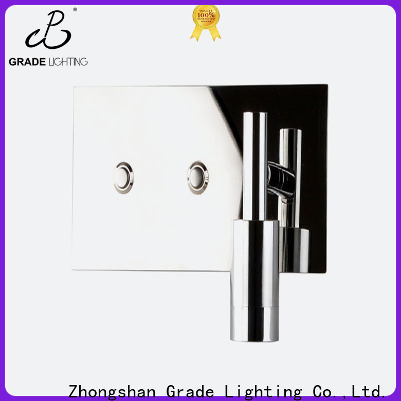 Grade aluminum custom wall lights supplier for hotel