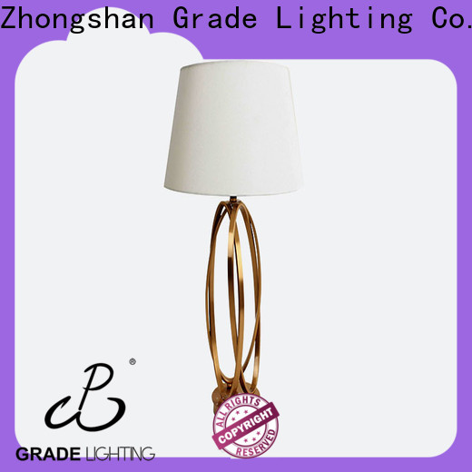 Grade hotel table lamp supplier for hallway
