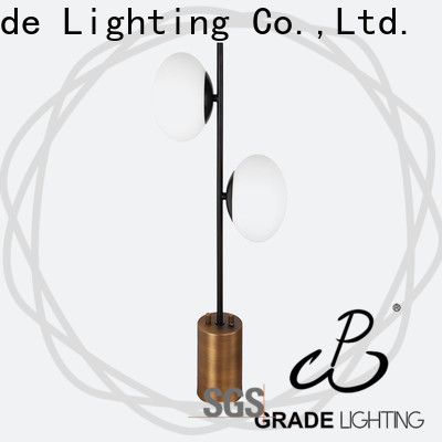 Grade sturdy indoor table lamps factory price for hallway