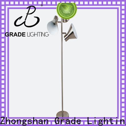 Grade fashion floor lights customized for hotel