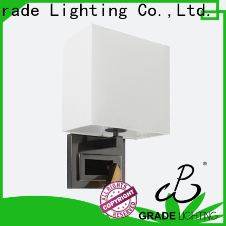 Grade indoor wall lamps supplier for hotel