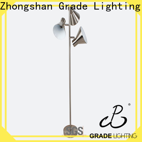 Grade wood body hotel floor lamps from China for hotel