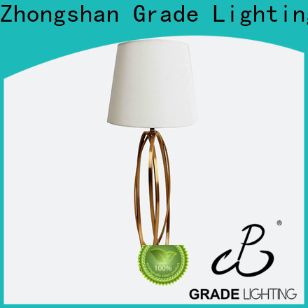 modern hotel table lamps factory price for living room