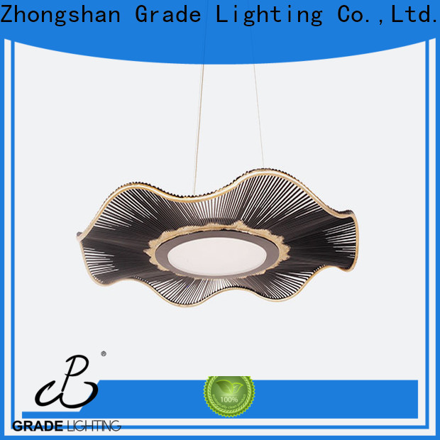 Grade pendant lamp design for bedroom
