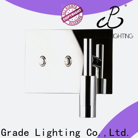 Grade mounted hotel wall lamp supplier for living room
