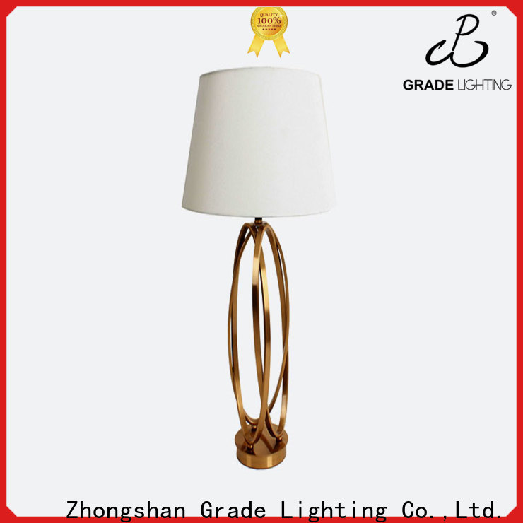 Grade table lamps supplier for indoor