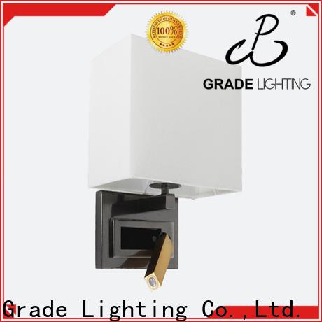 Grade aluminum wall lights factory price for restaurant
