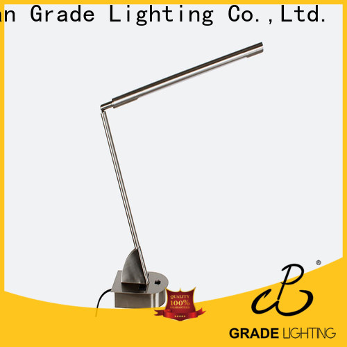 Grade table lamps personalized for restaurant