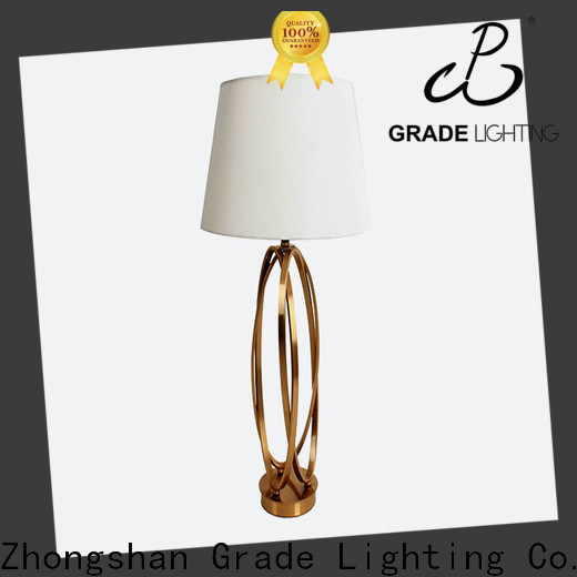 Grade stable hotel table lamps supplier for restaurant