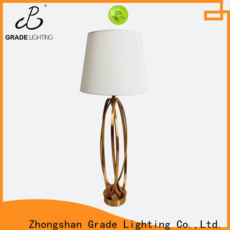 certificated custom table lamps supplier for hallway